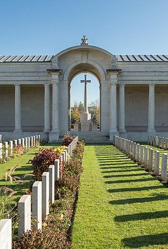 Thomas Arthur Nelson - Faubourg d'Amiens Cemetery
