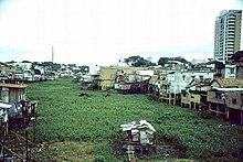 Favela em Manaus.