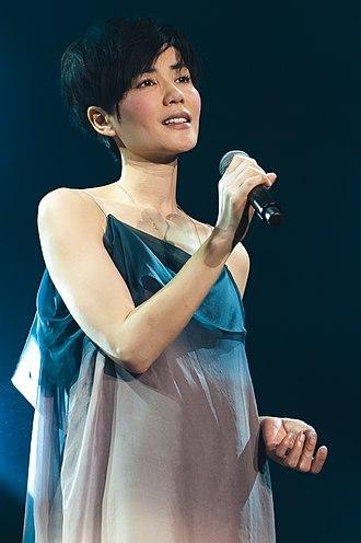 Faye Wong - Wong performing at a concert in Kuala Lumpur, Malaysia, 2011