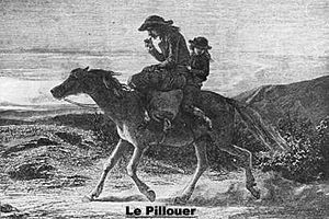 Colportage - Colporteur during the 19th century in Brittany.