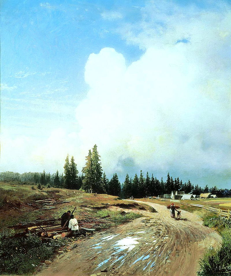 Fedor Vasilyev After thunderstorm 1868.jpg