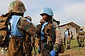 Female combat troops of South African Contingent in MONUSCO on robust foot and moblile patrols 17.jpg