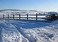 Fence in the snow - geograph.org.uk - 1651473.jpg