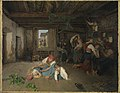 Ferdinand Georg Waldmüller - Vorbereitung zum Fest - L 857 - Bavarian State Painting Collections.jpg
