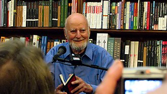 City Lights Bookstore - Lawrence Ferlinghetti at City Lights in 2007