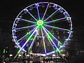 Ferris wheel, Headrow, Leeds by night (12th December 2018) 005.jpg
