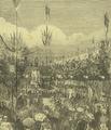 Festas do Centenário de Camões (1880) - Chegada do Cortejo Cívico à Praça de Luís de Camões.png