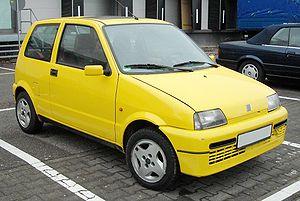 Fiat Cinquecento - Cinquecento Sporting