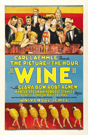Wine (1924 film) - Image: Filmposter Wine 1924