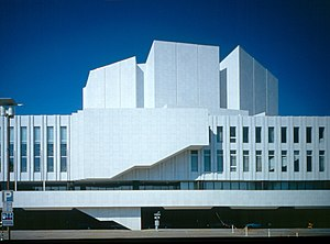 Finlandia Hall - East side facade