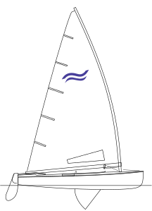 Finn dinghy.svg