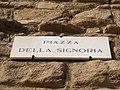 Firenze - Piazza della Signoria - targhetta.jpg