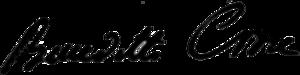 Benedetto Croce - Image: Firma B Croce