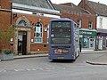 First Norwich 13 Turquoise Line Bus Wymondham.jpg