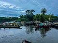 Fishing boats Idenau cameroon.jpg