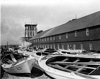 Nushagak, Alaska - Getting the fishing boats ready at P.H.J.