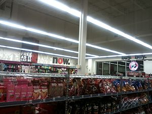 Five Below - Inside of Five Below store, Saginaw, Michigan.
