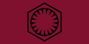 First Order (Star Wars) - Image: Flag of the First Order