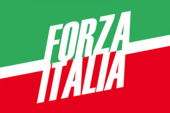 Flag of the Forza Italia.png