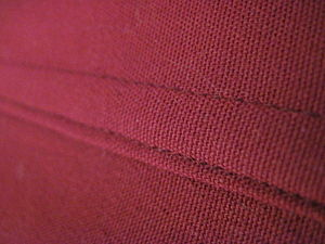 Seam (sewing) - A flat fell seam