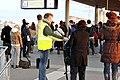 Flickr - NewsPhoto! - ProRail deelt flyers en chocolade uit na ontspoorde trein (1).jpg