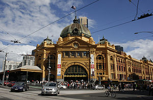 Fawcett and Ashworth - Flinders Street Station