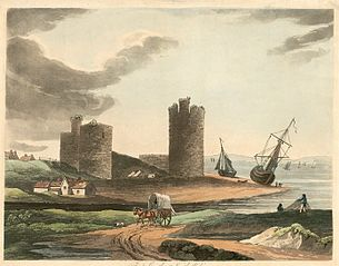 Flint Castle, North Wales