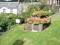 Flowerbeds by St Vincent House and Restaurant - geograph.org.uk - 938448.jpg