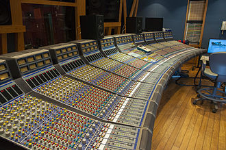 Rupert Neve - Focusrite Console 72in 48out with GML Fader Automation