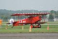 Fokker DVII Ernst Udet Landing Taxi Dawn Patrol NMUSAF 26Sept09 (14576891866).jpg