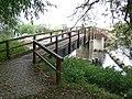 Footbridge on the River Soar - geograph.org.uk - 556737.jpg