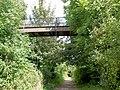 Footbridge over Trans Pennine Trail. - geograph.org.uk - 536066.jpg
