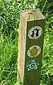Footpath marker - geograph.org.uk - 482319.jpg