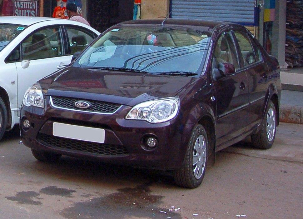 Ford Fiesta saloon, Delhi