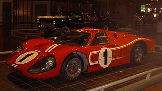 1967 24 Hours of Le Mans - The winning Ford Mk IV of Gurney/Foyt
