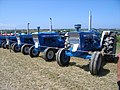 Ford Tractors on display at the Padstow Steam Rally, 2009 - geograph.org.uk - 1423316.jpg