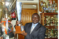 Former School Principal Mr. Edwin Namachanja in the Principal's Office.png