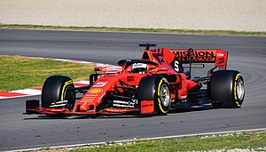 Formula One Test Days 2019 - Ferrari SF90 - Sebastian Vettel.jpeg