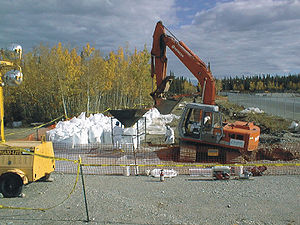 Radioactive waste - Removal of very low-level waste