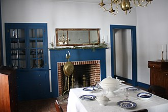 Fort Howard (Wisconsin) - Image: Fort Howard Officers Quarters Dining Area