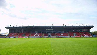 Forthbank Stadium - Image: Forthbankwest