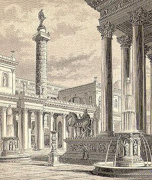 Trajan's Forum - Image: Forum Romanum Roma