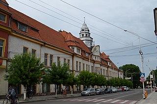 Municipality in Suceava County, Romania