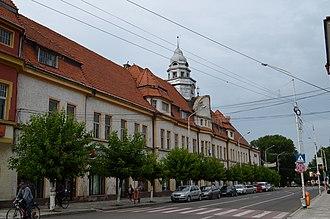 Rădăuți - Union Square in downtown Rădăuți