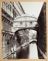 Fotografi av suckarnas bro i Venedig - Hallwylska museet - 103012.tif