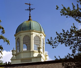 Loomis Chaffee School - Cupola atop Founders Hall