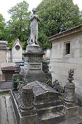 Piñeyro's tomb