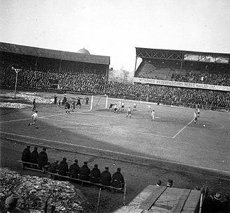 Ferencvárosi TC - The B stand at Üllői úti stadion