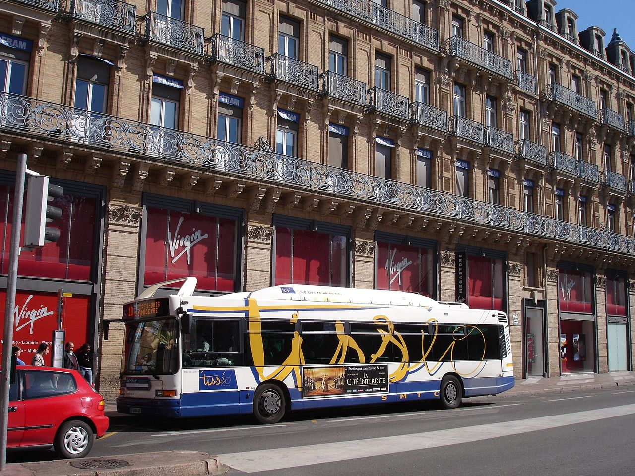 file france toulouse bus wikimedia commons. Black Bedroom Furniture Sets. Home Design Ideas