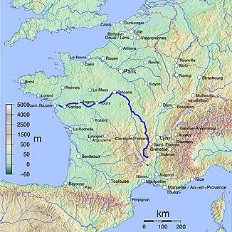 Lauf der Loire